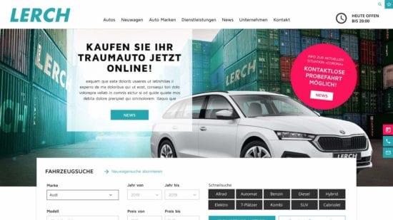 Neue Homepage - Autolerch AG Rothrist