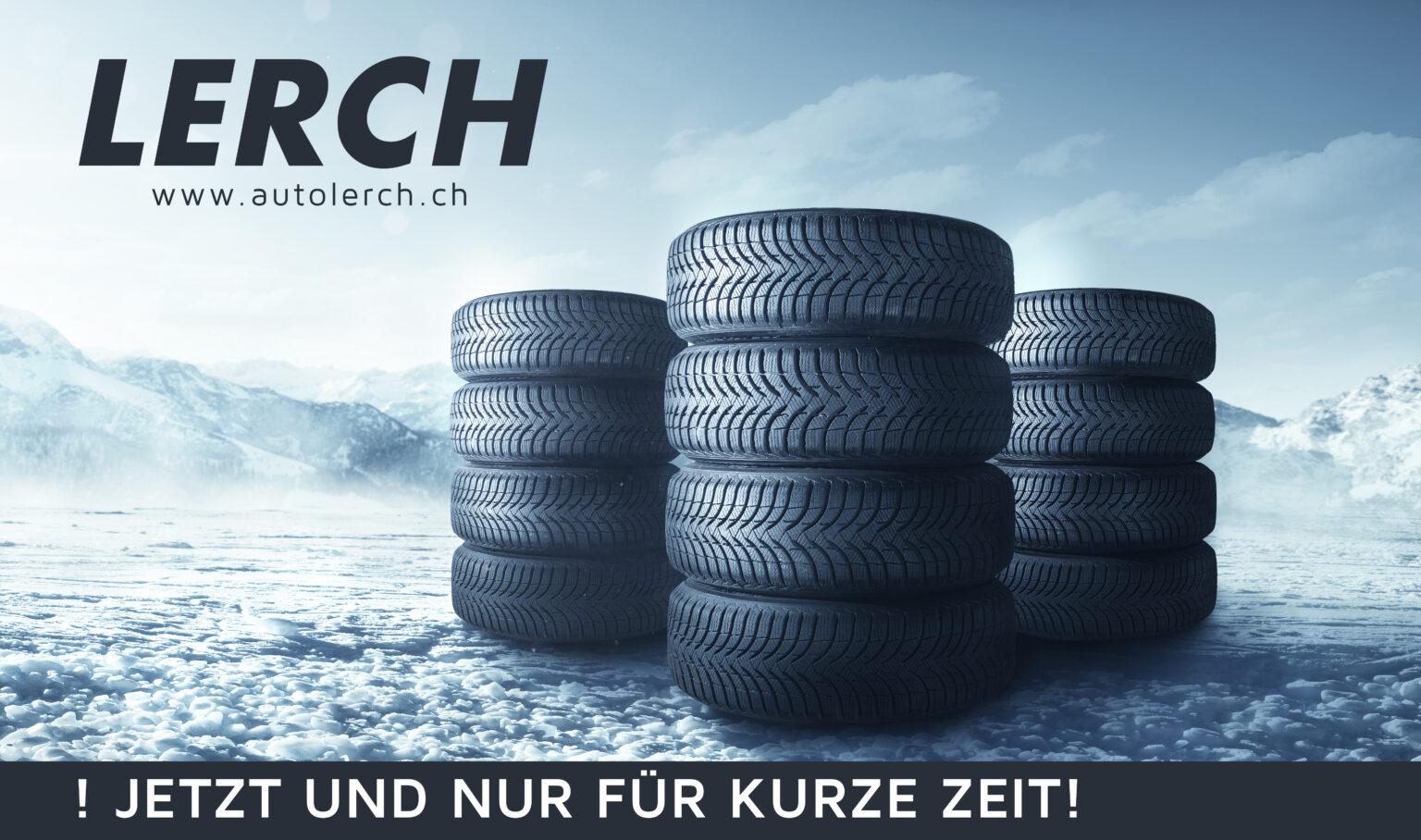 Jetzt Radwechseltermin zum Vorzugspreis sichern! - Autolerch AG Rothrist