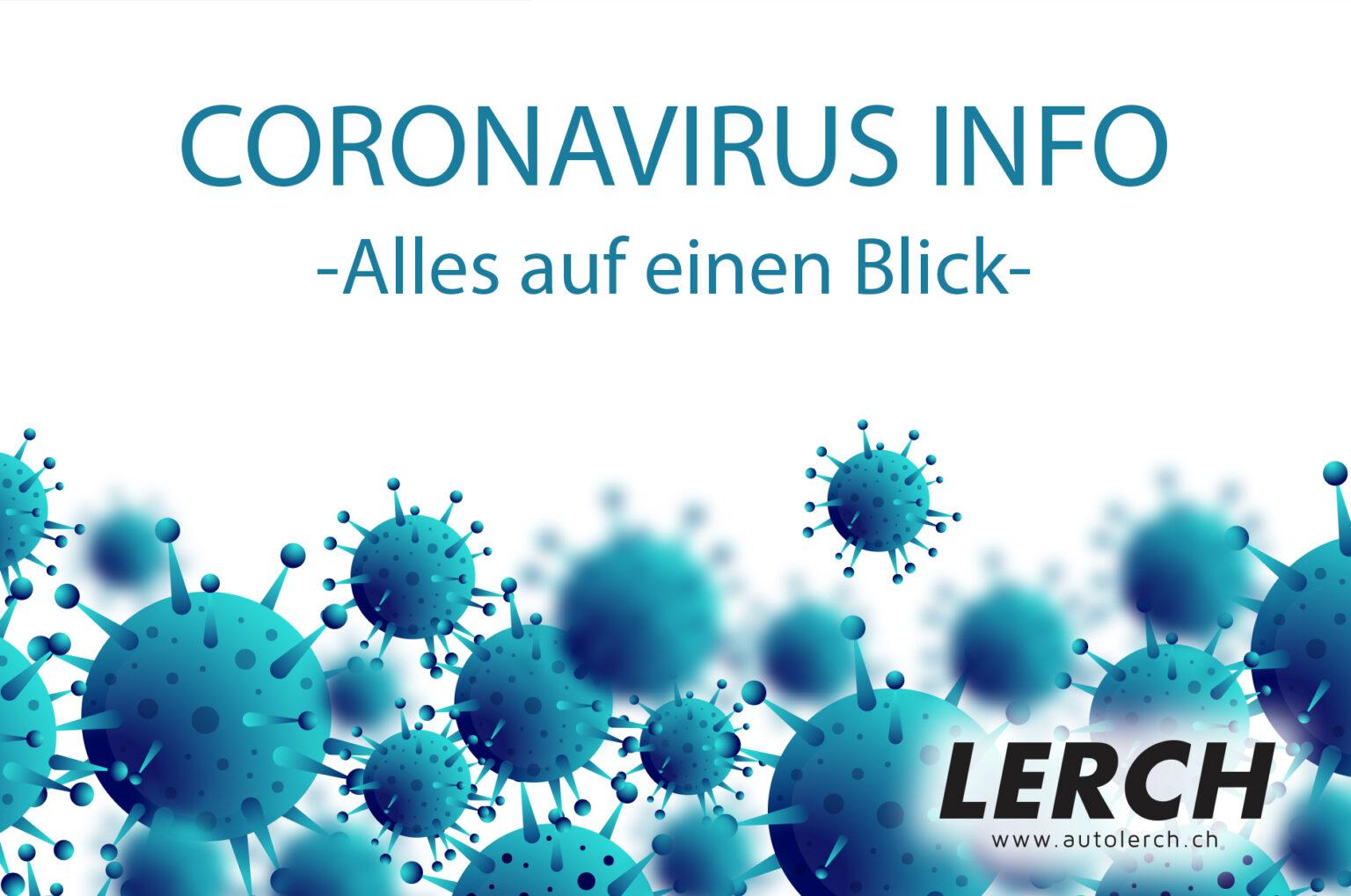 CORONAVIRUS-INFO - Autolerch AG Rothrist 1